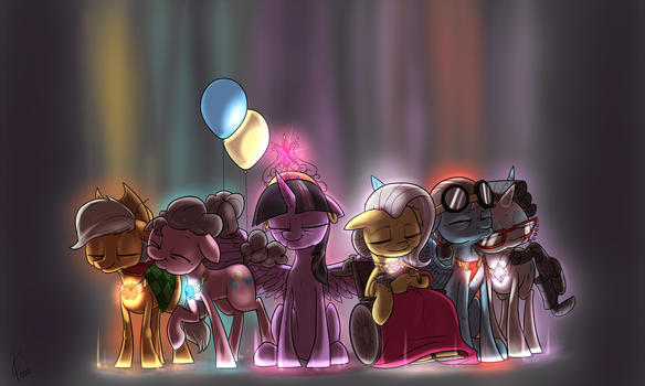 Golden Days of Harmony by Dreatos