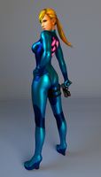 Zero Suit Samus by BakaDayo