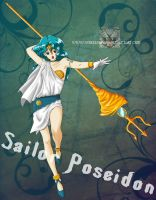 Sailor 'Poseidon' Neptune by WereLeopard