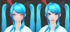 Hatsune Miku: Textures decals by HazardousArts
