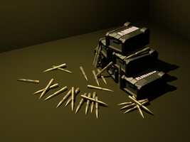 Lowpoly ammocrates by VanoNTP