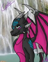 Shy Cynder Colored by Atekal