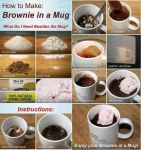 Mug Brownies :D by 13MusicRox13