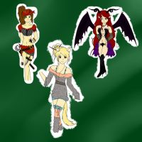 First Adoptables....maybe last. by musicallyinsane09