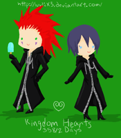 KH: Axel Xion by luvliX3