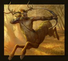 Deer archer by gugu-troll