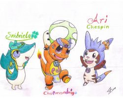 One Up for the Super Starters by CharmanDrigo