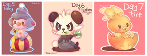 Pokemon - Day 5-7 by MindlessFrappe