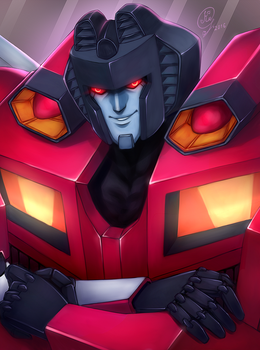 Starscream by Kuriko-san