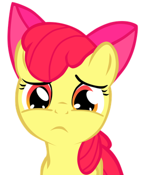 Sad Apple Bloom by ECHOES111