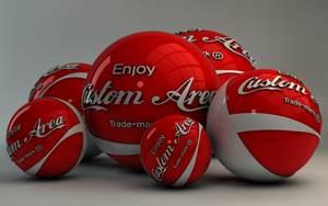 Custom Cola Balls by Dracu-Teufel666
