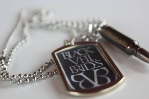 My Black Veil Brides Dog Tag Necklace. by FabArtistic