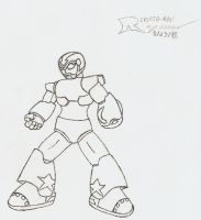 Dead Serious Reploid-Man by Reploid-Man