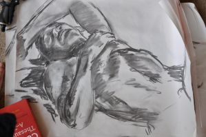 life drawing 2 by Jack-Kirby-Crosby
