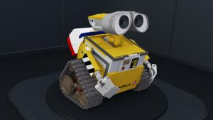 Wall-E Blender 3D Model Ver 1.2 by PixelOz