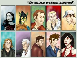 Fav Charas by xByDefault