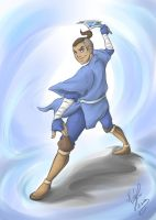 Sokka - The Warrior by sarumanka