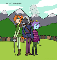 Ask Trevor and Friends HERE by The-Clockwork-Crow