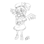 Flandre Sketch by Robot-and-Alien-Dude