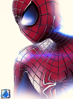 The Amazing Spider-man by InvisibleRainArt