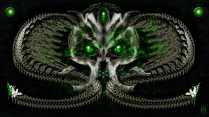 Skull of Cthulhu by Higher-Vision-Media