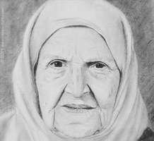 Grandmother R.I.P. by NadeemZurba