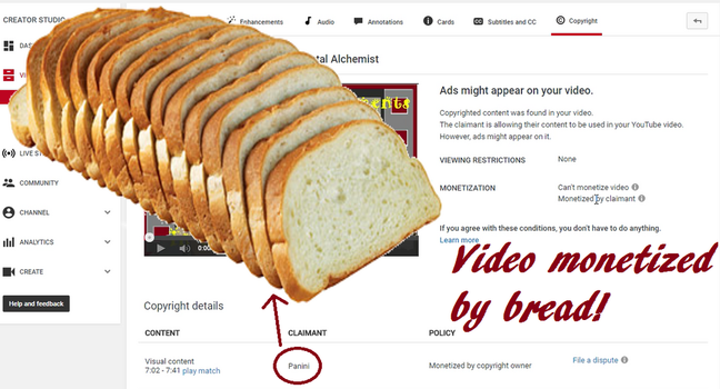Video Monetized by Bread by WhatsInAName99