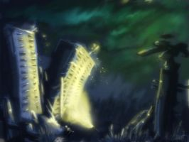 a city .. speed paint by smeetrules