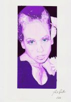 pretty in pinky violet by spanishartist