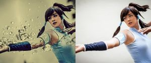 Before~After: Korra by Snap-Mc-Shotty