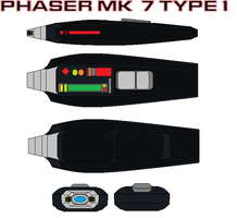 Phaser mk  7 type 1 by bagera3005