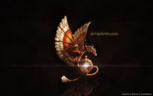 Wallpaper Steampunk HD 1920x1200 by DShepe