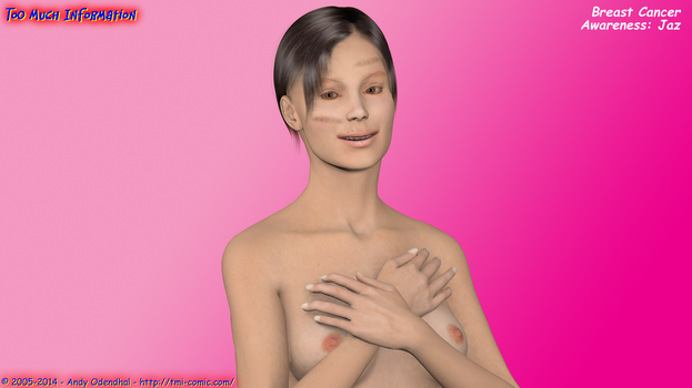 Jaz raising Breast Cancer Awareness by AOdendhal