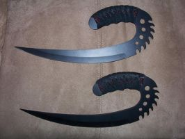 Riddick Blades or Ulaks by mandykat