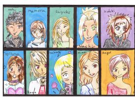 Character profiles. by Ai-Rin