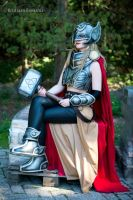 All New Thor Cosplay - Marvel VII by SheresCosplay