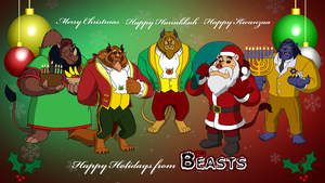 The Beasts - Holidays Wallpaper by BennytheBeast