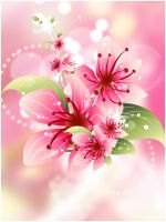Floral Bg by Dsings