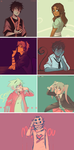 Misc Color Palettes by ikimaru-art