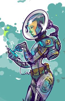 Space Cadet by thailur