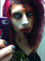 Even zombies take mirror shots by itashleys-makeup