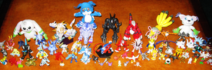 Digimon Collection by ShroudofShadows