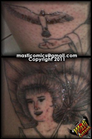 Geisha detail Tattoo