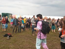 People at BurgHerzbergFestival12 by Dominik19