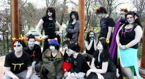 Hungarian Homestuck Cosplayers by NAkos