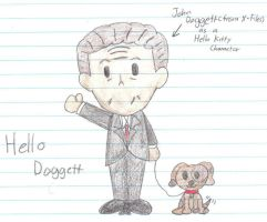 Hello Doggett by LUVKitty13