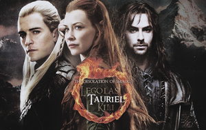 Legolas, Tauriel and Kili by EmilyEretica