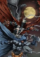 Batman - Spawn by Rahmat M Handoko by h4125