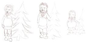 Hagrid Sketch by panzi
