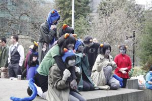 ECCC Homestuck Photoshoot: Leijons by strawberrymilkchan